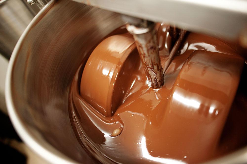 Приготовление шоколадной массы