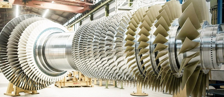 Domestic coatings by the Modengy company are used at producing energy turbines